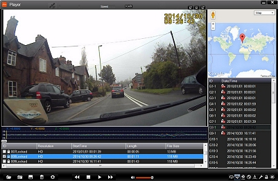 Software player for the Mio Combo 5107 LM Sat Nav